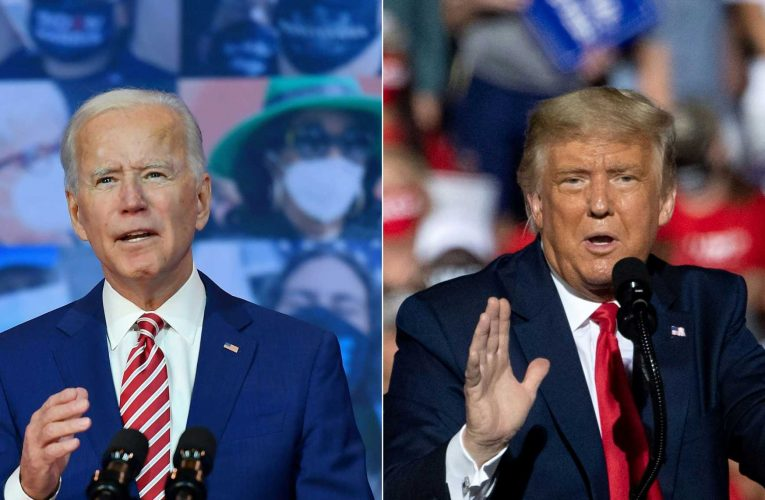 Coronavirus vaccine breakthrough prompts hype from Trump, cautious optimism from Biden
