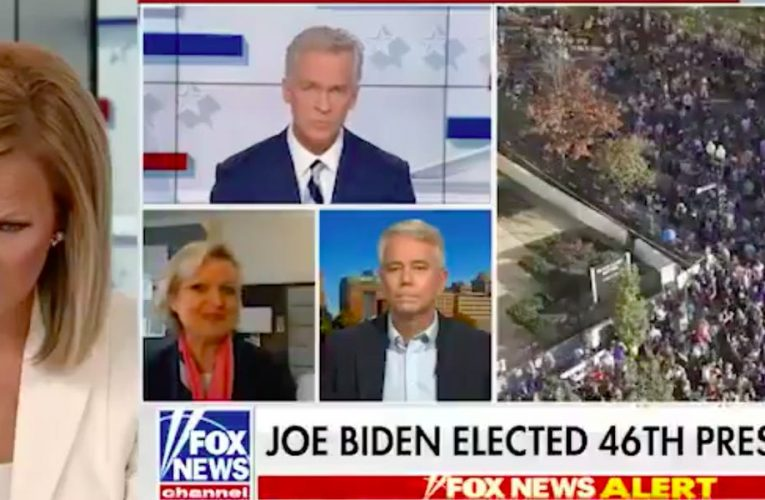 'What is happening?': A Fox News anchor frowns and rolls her eyes while a guest questioned the election results