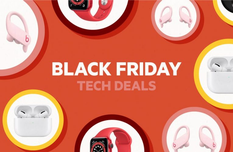 Black Friday tech deals on Apple Watches, AirPods, Samsung and Sony TVs, Philips Hue smart lights, and much more are available now