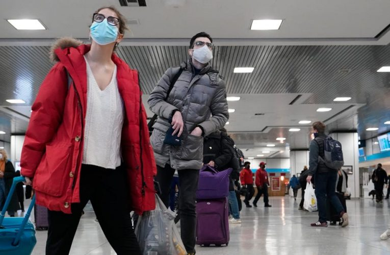 Millions traveled for Thanksgiving despite CDC warnings – here's what it looked like