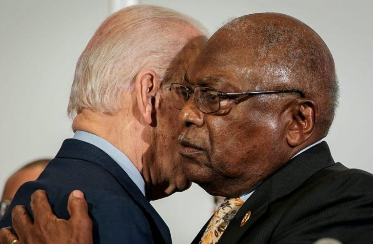 Rep. Jim Clyburn says that Biden should select more Black appointees for high-ranking administration posts