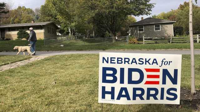 Biden's 1 electoral vote from Nebraska district could prove pivotal to his White House bid