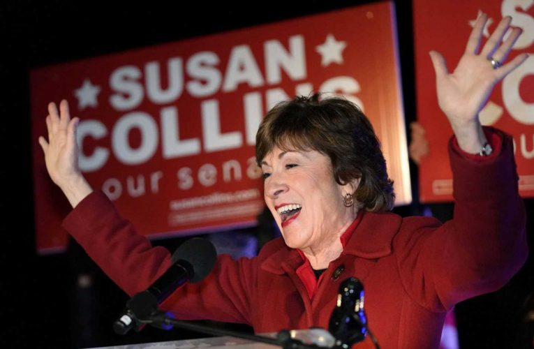 Susan Collins claims victory in Maine Senate race, Sara Gideon concedes