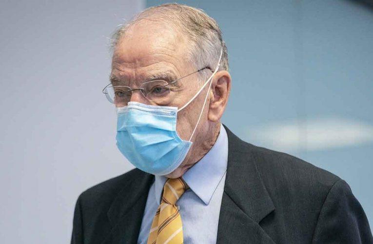 Iowa Sen. Chuck Grassley, 87, tests positive for COVID-19