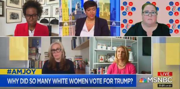 MSNBC segment attacks white women, claims 'active role in white supremacy'