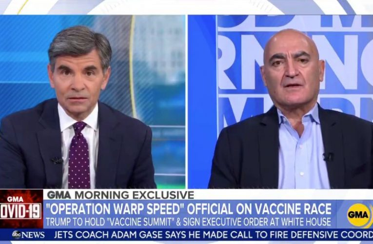 Vaccine Czar 'Literally' Doesn't Know About Trump's Planned Executive Order On Vaccines