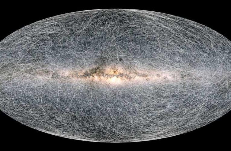Mind-blowing map of our Milky Way galaxy unveiled as astronomers reveal Earth is heading TOWARDS a black hole