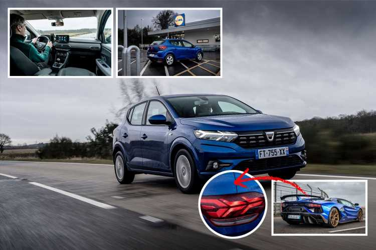 Dacia's Sandero is a half-price Renault Clio with Lamborghini lights for £7,995 but only if you pre-order before Brexit