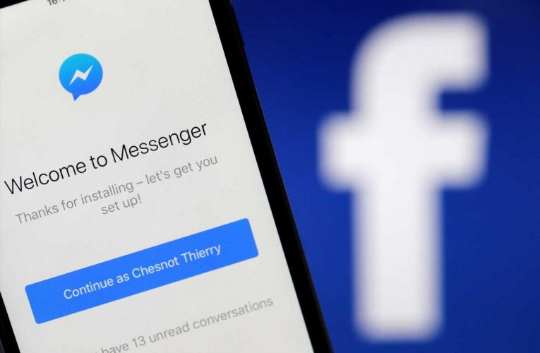 Why is Facebook Messenger not working and what does 'waiting for network' mean?