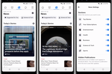 Facebook is launching NEW 'News Feed' with no posts from friends or family in January
