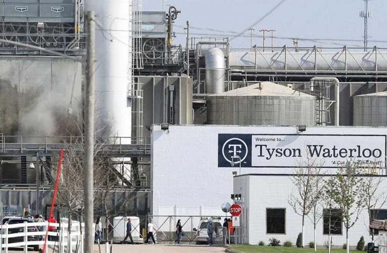 Tyson fires 7 at Iowa pork plant after COVID betting probe