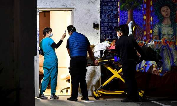 Los Angeles Virus Cases Surpass 500,000 Amid 'Thanksgiving Surge'