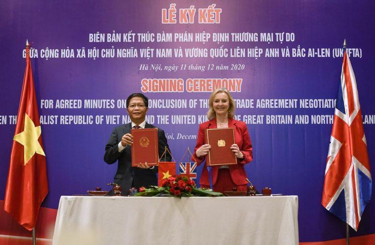 U.K., Vietnam Reach Free-Trade Deal as Brexit Deadline Looms