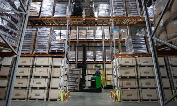 Brexit stockpiling gave UK manufacturers boost in November