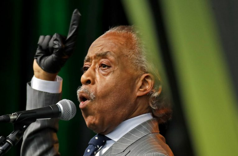 Al Sharpton accuses Loeffler of 'vile fearmongering' for calling Warnock a 'radical liberal'