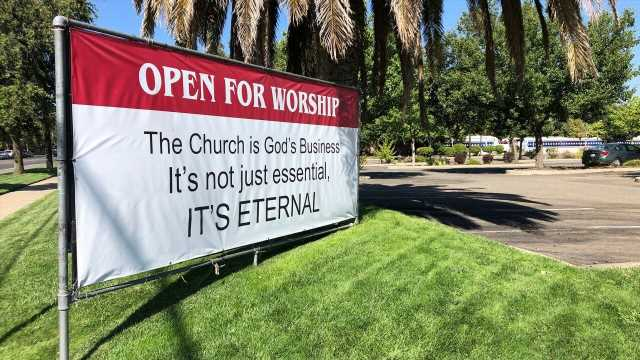 Supreme Court gives temporary win to California churches over coronavirus restrictions