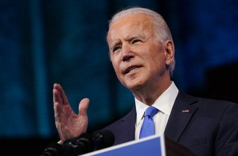 Biden urges Americans to sit out inauguration to stop spread of coronavirus