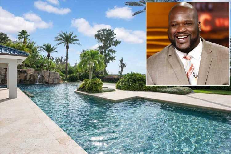 Shaq sells Florida mega-mansion for $16.5M