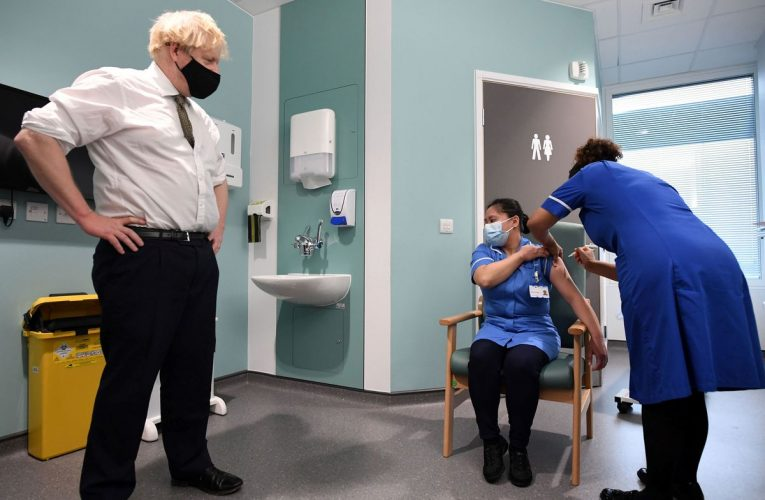 Johnson Faces Third Lockdown as Virus Surges Across U.K.
