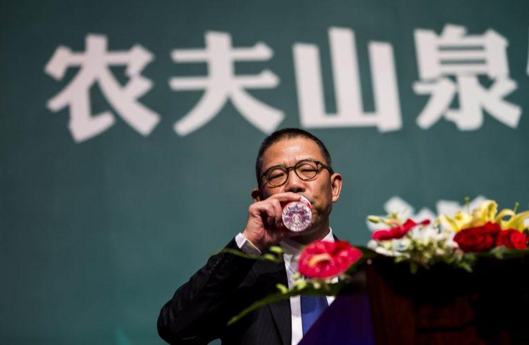 China's Bottled Water King Is Now Richer Than Warren Buffett