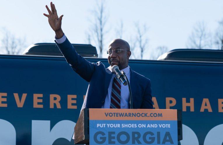 Democrat Warnock Wins as Senate Hinges on Second Georgia Runoff