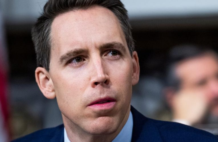 Watch Sen. Josh Hawley speak after Capitol riots