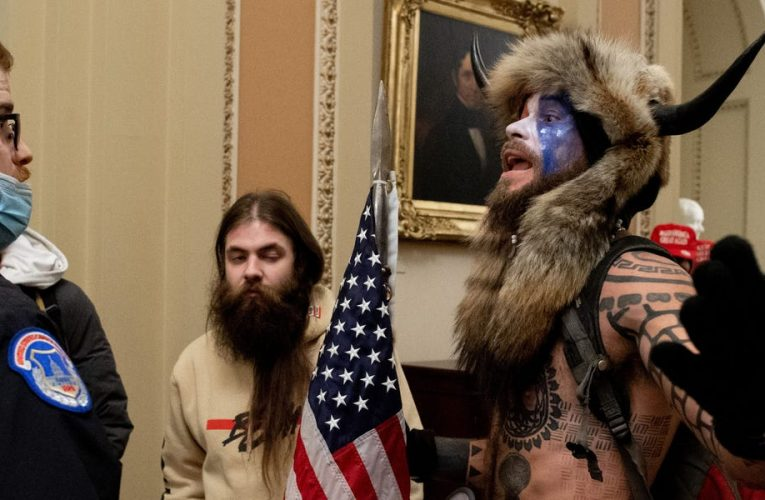Trump supporters falsely claim a far-right activist at the US Capitol is actually a member of 'Antifa'