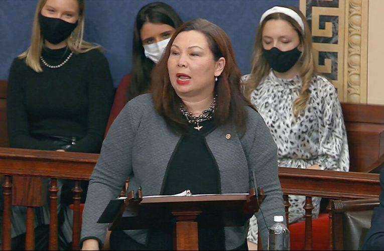 Sen. Tammy Duckworth demands probe of military members in Capitol riots