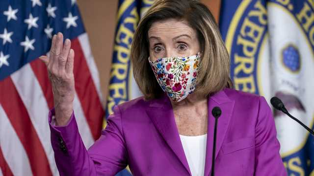 Pelosi uses slew of gendered terms despite introducing resolution opposing them