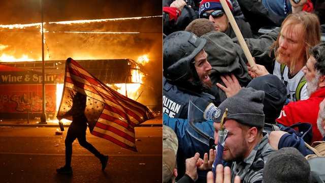 Democratic lawmakers, liberal media didn't always condemn violence