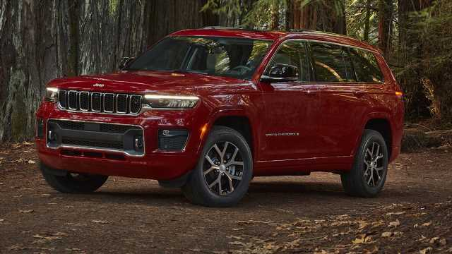 Big news: 2021 Jeep Grand Cherokee L revealed with seating for 7 and spy cam