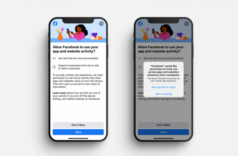 Facebook sends out alert begging iPhone users to agree to creepy ad-tracking after Apple privacy update