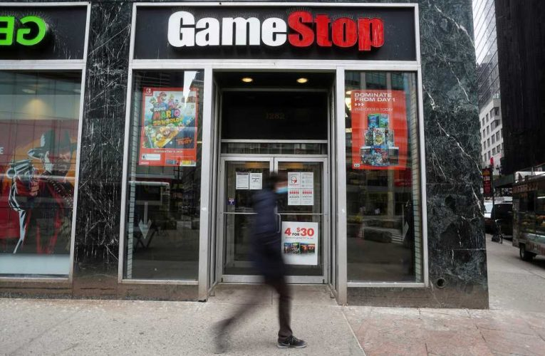 GameStop stock plummets, AMC jumps as Reddit roils markets
