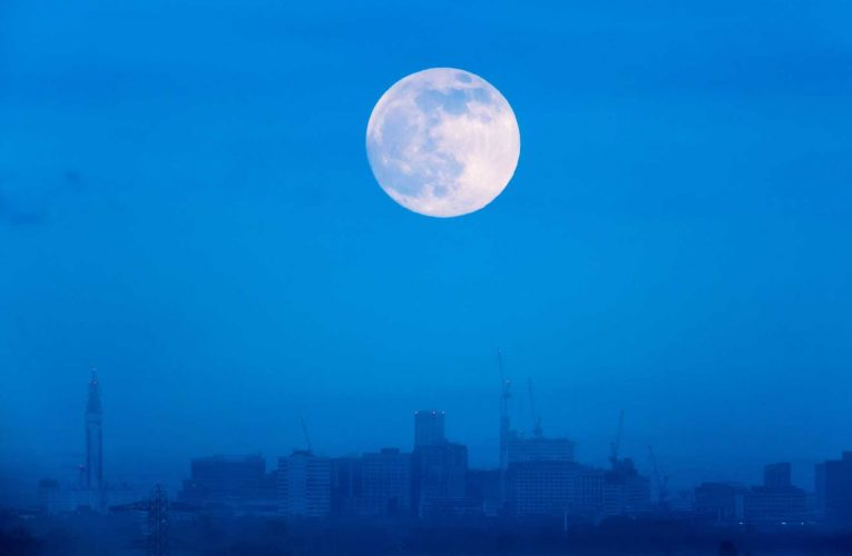 When to see Full Snow Moon this weekend – feared by Native American tribes as 'storm and hunger moon'