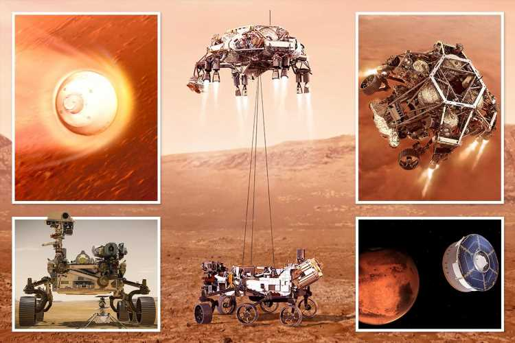 NASA Perseverance rover safely lands on Mars after incredible seven-month, 470-million-km journey