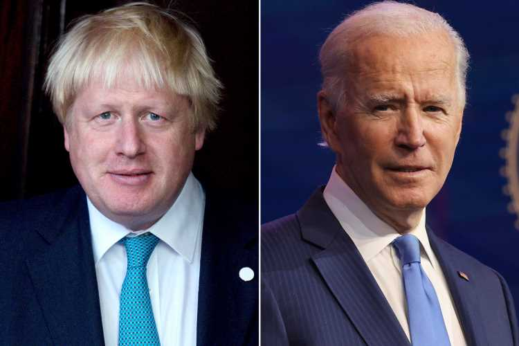 U.K. Prime Minister Boris Johnson Says Working With President Joe Biden Has Been 'Incredibly Encouraging'