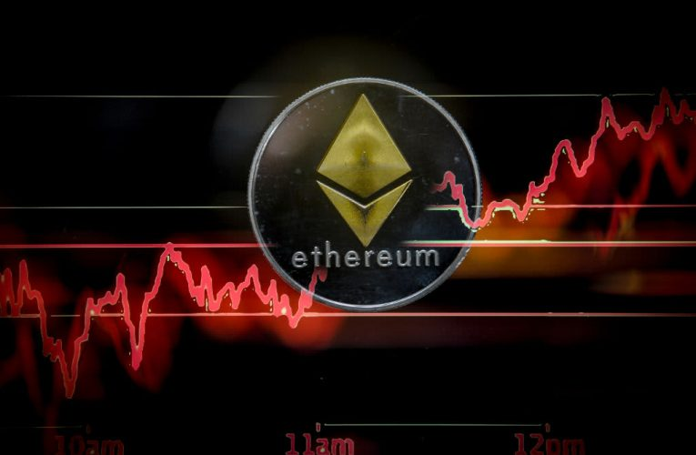 Ether, the world's second-largest cryptocurrency, hits a new record high above $1,700