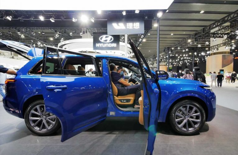 Chinese electric car start-up Li Auto expects it will sell fewer cars than Nio has been delivering