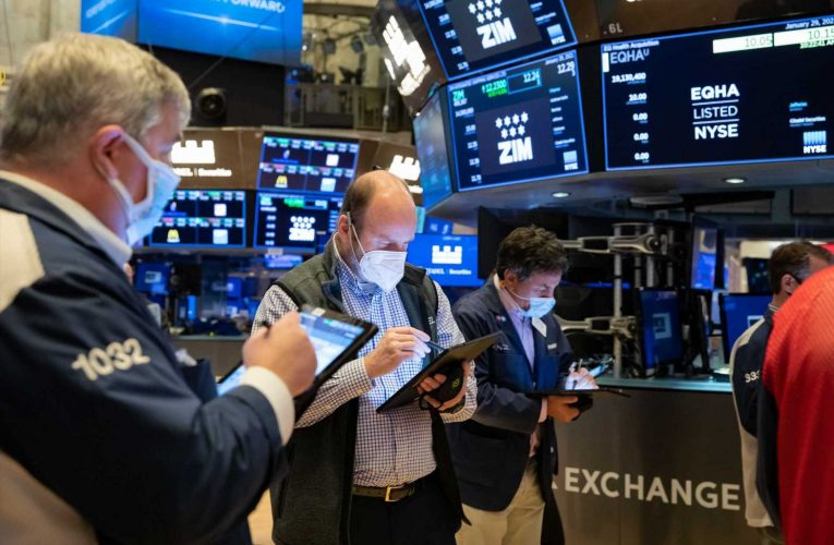 Stock futures higher after Dow closes at record level