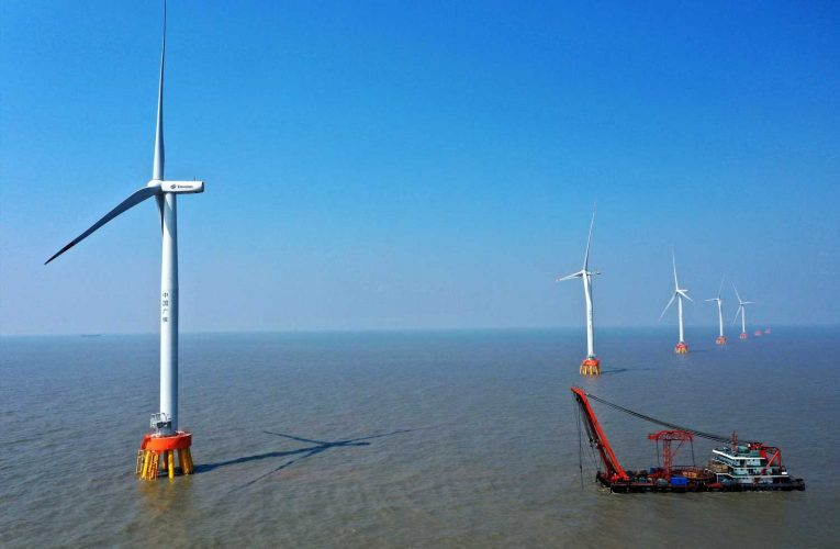 China lays down another marker in the offshore wind sector, accounting for half of last year's installations