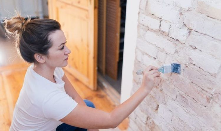 How to clean paint off bricks