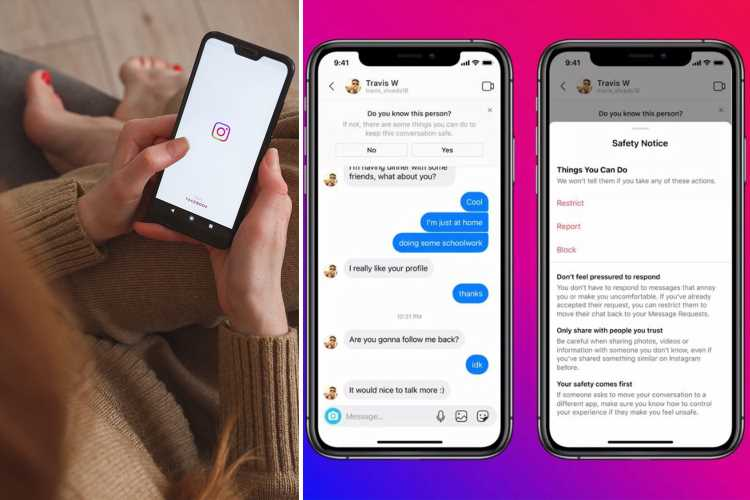 Instagram will use AI to ban adult strangers from messaging teens by guessing your age in paedo crackdown