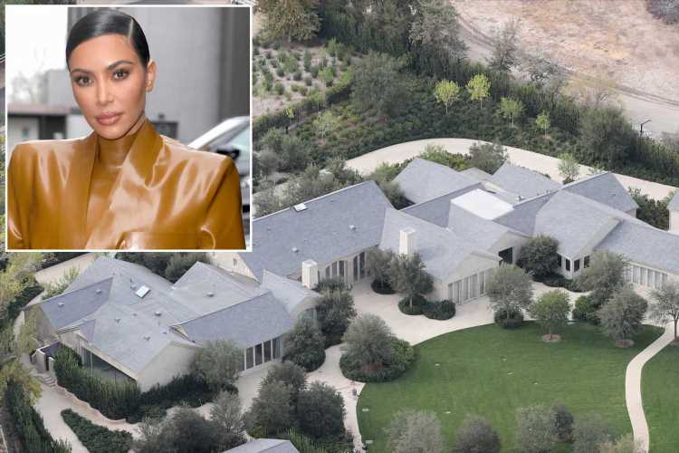Kim Kardashian will get LA mansion after Kanye West divorce: report