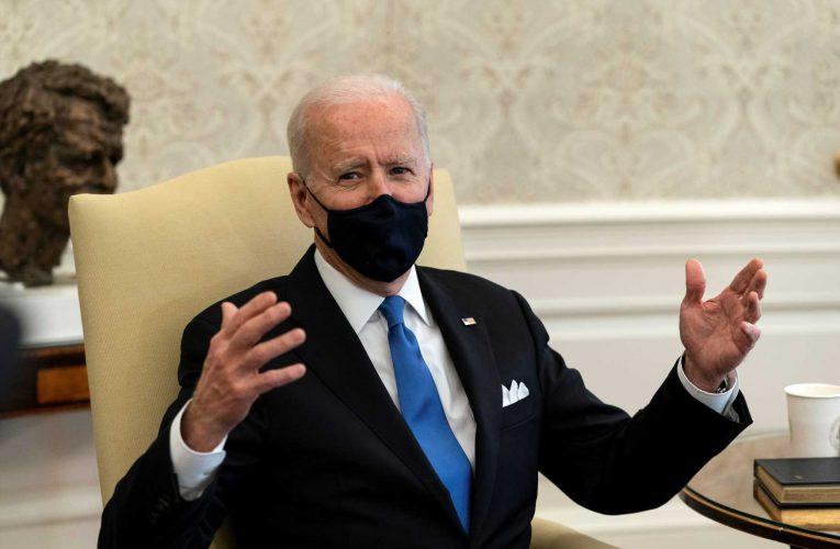 President Joe Biden slams governors for lifting mask mandates, calls it 'Neanderthal thinking'