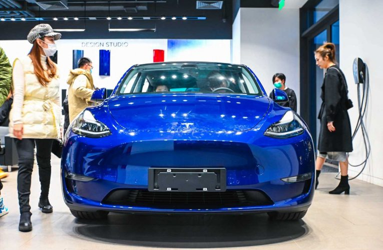 Tesla's China-made Model Y takes off despite holiday car sales slump
