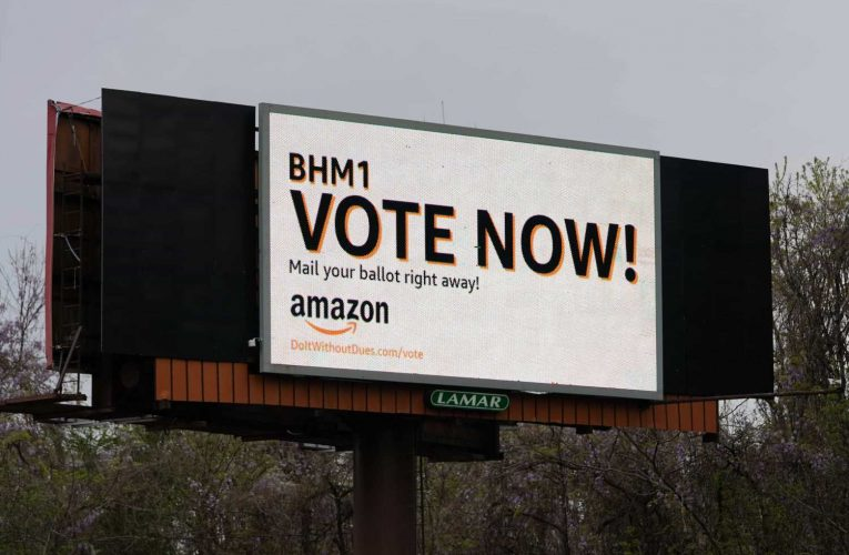 Amazon's aggressive PR campaign ahead of union vote shows how worried it is