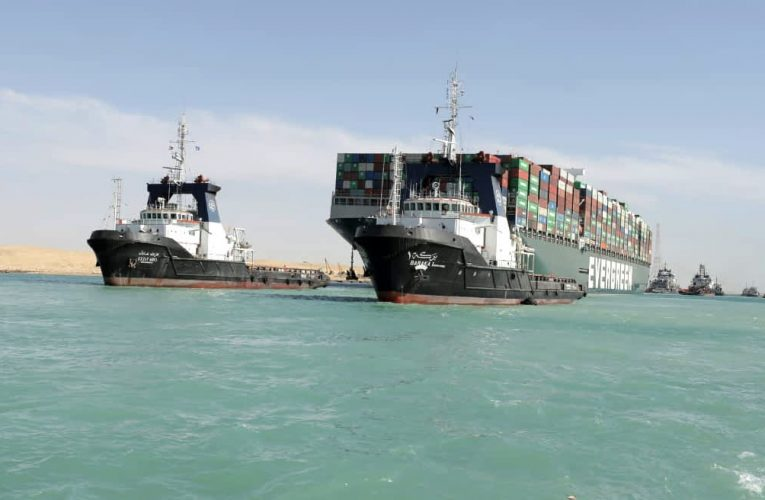 The impact of the Suez Canal blockage will be felt for months to come, says maritime expert