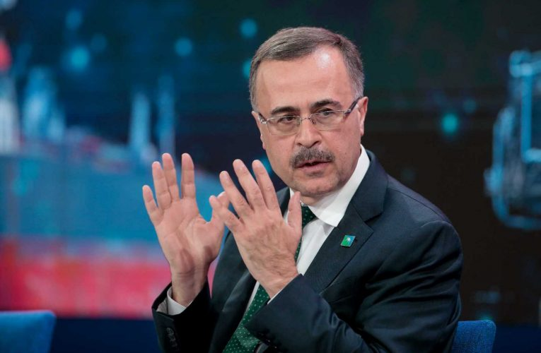 Saudi Aramco CEO says oil giant can still meet dividend expectations as crown prince prioritizes investments