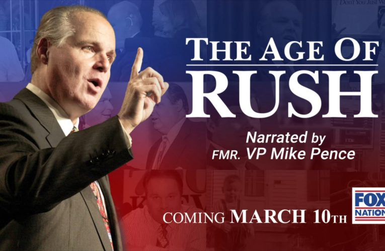 Former VP Pence narrates 'The Age of Rush', a look at the man behind the golden microphone