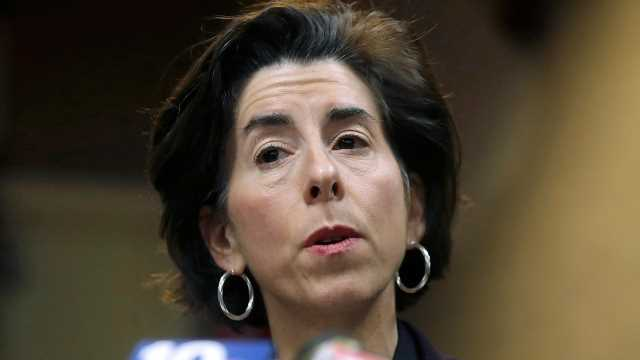 Senate confirms Gina Raimondo for commerce secretary